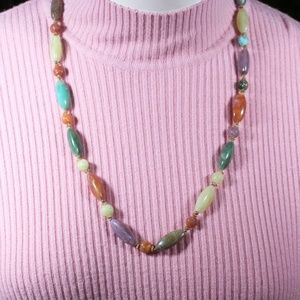 Jewelry - Multicolored Faux stone Necklace